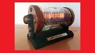 【DIY】アンティークなニキシー管時計を作ってみた【スチームパンク】 Nixie Tube Steampunk Clock thumbnail