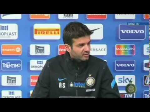 Conferenza Stramaccioni pre Lazio-Inter 12/05/2012 h.13:00