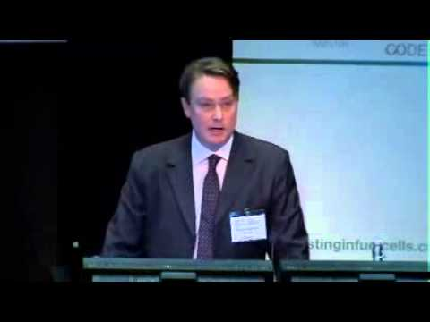 Simon Arbuthnot, Ricardo Strategic Consulting, speaks at Investing in Fuel Cells   Sept 2012