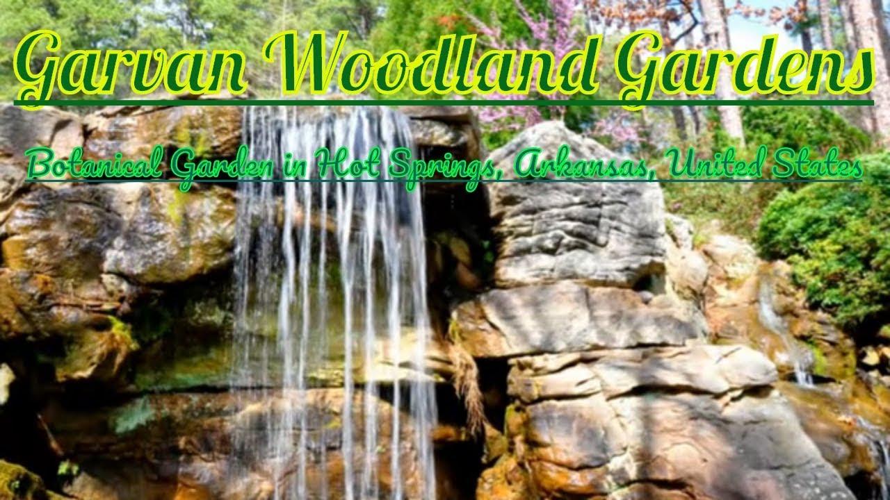 Visiting Garvan Woodland Gardens, Botanical Garden in Hot Springs, Arkansas, United States