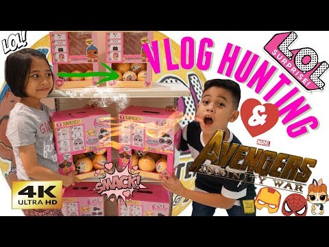 VLOG HUNTING LOL SURPRISE & Mainan AVENGERS Infinity War  TheRempongs