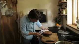 Jamie Oliver's Orange And Polenta Cake In A Wood Fired Oven