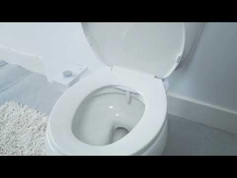 TUSHY Bidet Easy Install for the Modern Bathroom