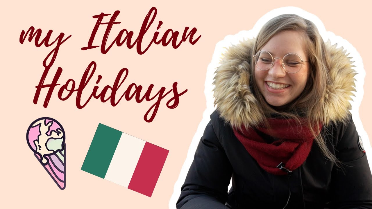 Learn Italian with Vlogs (my Christmas trip): Vocabulary breakdown