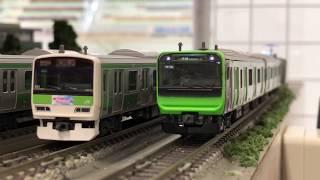 鉄道模型 KATO 自作E235系 01編成タイプ ラストラン