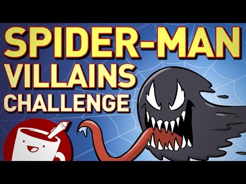 Artists Try to Draw Spider-Man Villains (That They've Never Heard Of)