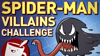 Artists Try to Draw Spider-Man Villains (That They