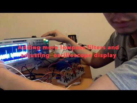 My homemade ECG - YouTube