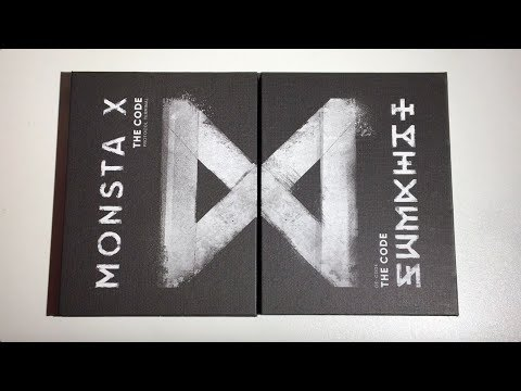 ♡Unboxing MONSTA X 몬스타엑스 5th Mini Album The Code 더 코드 (Protocol Terminal & De: Code Version)♡