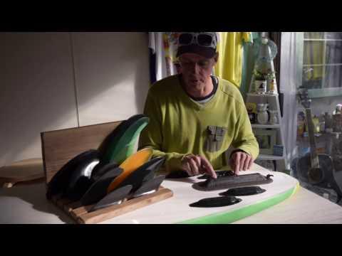 Wavestorm Surfboard 5 fin setup review & installation
