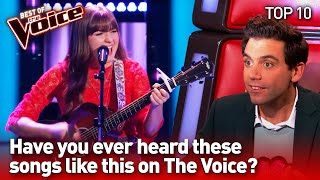 The most SURPRISING COVERS in The Voice #4 | Top 10
