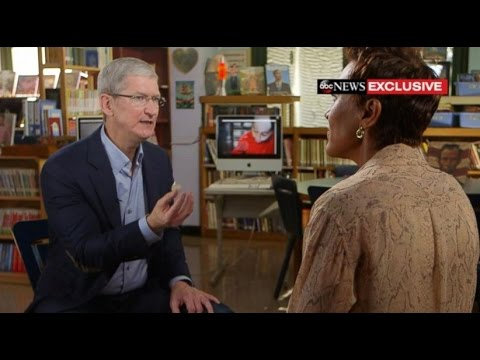 Tim Cook Interview | iPhone AirPods, Classroom Tech [EXCLUSIVE]