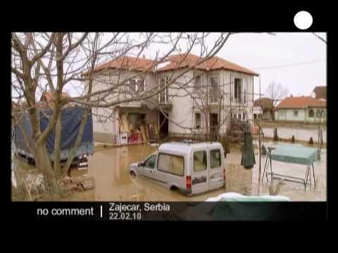 Flood in Serbia, 200 people evacuated!