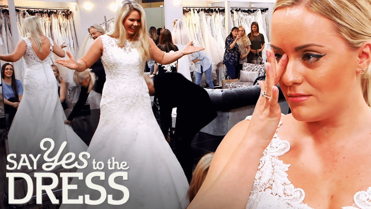 Bride Suffers From Dress Envy!