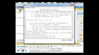 RIPv1 auto summary routes with Packet Tracer - Part 2
