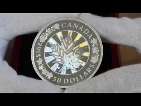 The Coin of the Future - The Canada 2015 5oz Silver Proof Maple Leaf $50