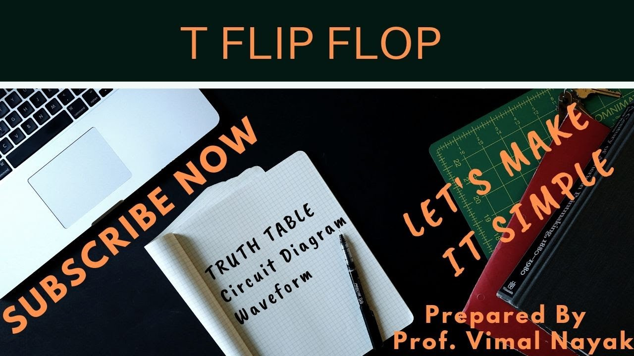medium resolution of t flip flop truth table characteristic table waveform