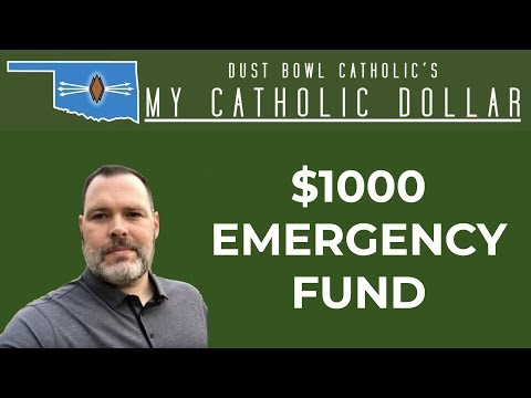 $1000 Emergency Fund - My Catholic Dollar 009