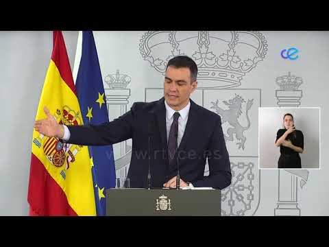 Sánchez reafirma que el estado de alarma finalizará el 9 de mayo, no habrá más prórrogas