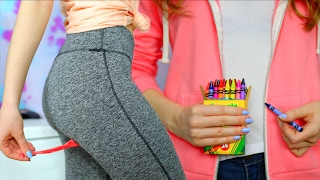 One of Brianna Renee's most viewed videos: 14 DIY CLOTHING LIFE HACKS You've NEVER Seen Before!