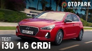 Hyundai i30 Elite 1.6 CRDi DCT TEST смотреть