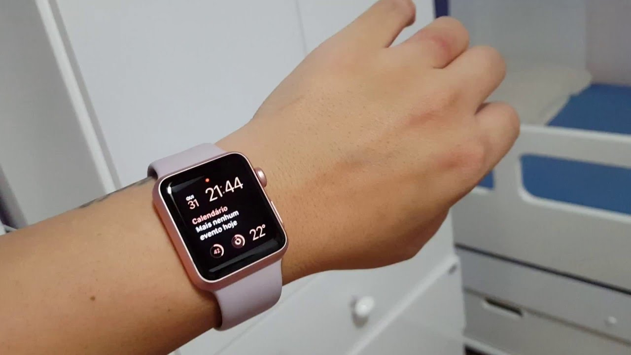 2c0a53a9494 Primeiras impressões do meu Apple Watch Rose Gold 38mm - YouTube