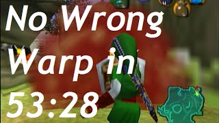[Commentated] No Wrong Warp Ocarina of Time Speedrun in 53:28