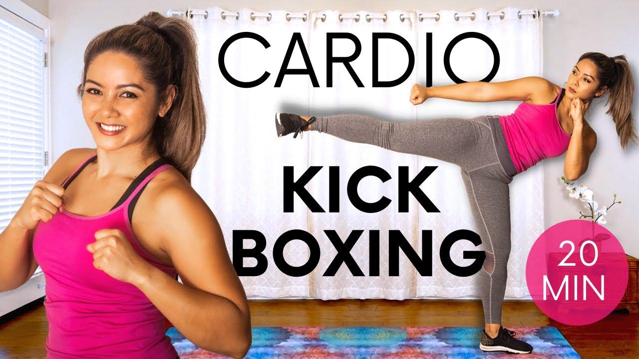 Fat Burning KickBoxing Cardio 🔥 Full Body Workout   BURN Calories HIIT