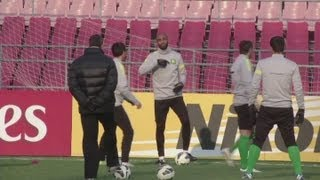 Beijing Guoan prepare for