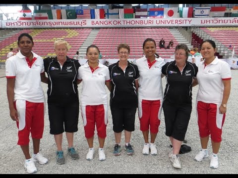 Women's World Petanque Championship 2015 - NZ vs Mauritius