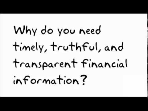 Why You Need Timely, Truthful, and Transparent Government Financial Information?