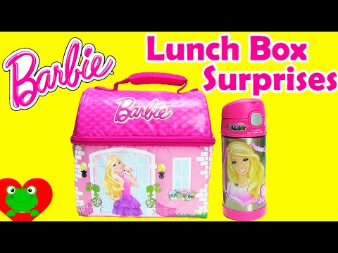 Lunch Box Surprises with Barbie Lunch Bag includes Shopkins, My Little Pony