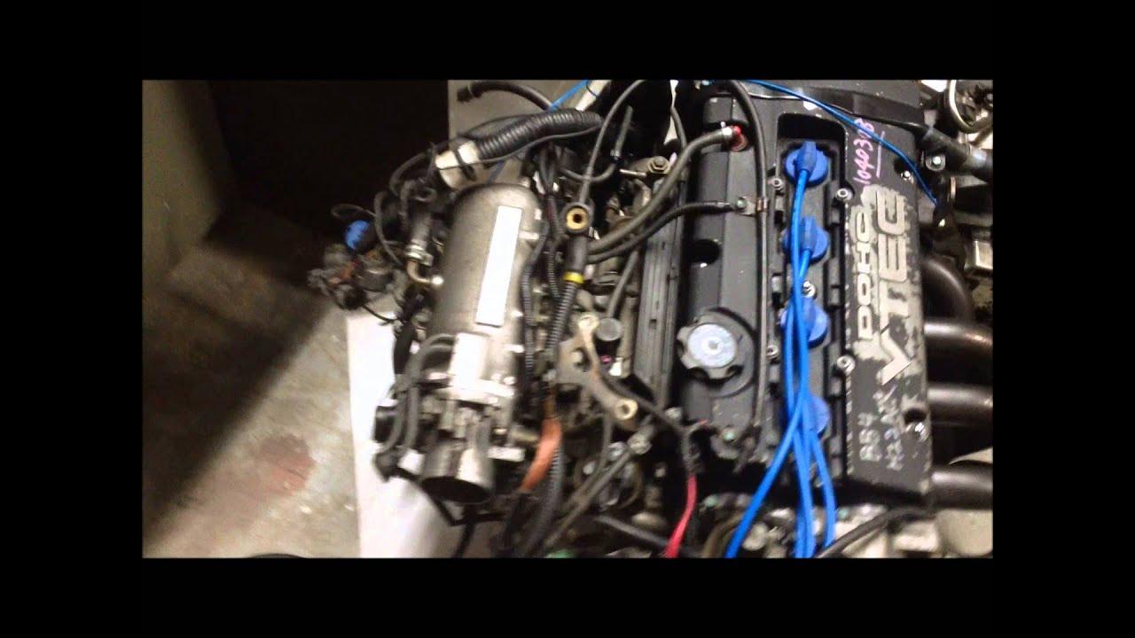 Jdm Honda Bb4 H22 A Prelude Vtec Engine Lsd Transmission Motor H22a Wiring Harness Swap