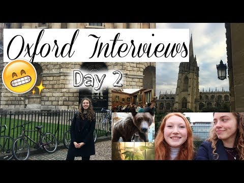 MY OXFORD INTERVIEWS 2017 Vlog! 🙈 (Biological Sciences)
