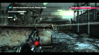 Binary Domain PC NVIDIA GT 220 Gameplay [ 720p ]