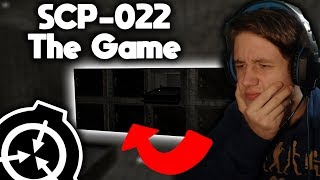 JAK UCIEC Z KOSTNICY SCP? | SCP-022 The Game!
