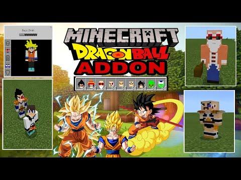 Download Addon Dragon Ball Minecraft PE