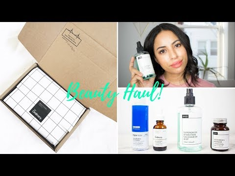 My Last Haul and Review from The Ordinary, NIOD, and Hylamide! | New Skincare and Makeup