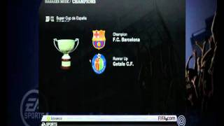 FIFA 11 All Trophies (Manager Mode)
