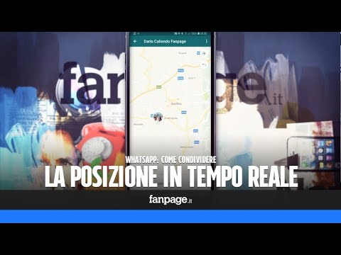 Come condividere la posizione in tempo reale in WhatsApp Messenger