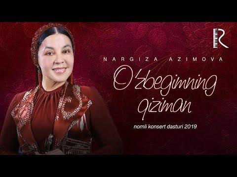 Nargiza Azimova - O'zbegimning Qiziman Nomli Konsert Dasturi 2019 #UydaQoling