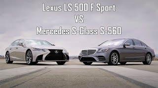 Lexus LS 500 F Sport Vs Mercedes S-Class S-560 AMG - Drive Test