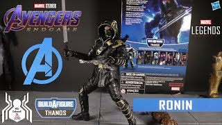 Marvel Legends RONIN Armored Thanos BAF Avengers Endgame Wave 3 Figure Review