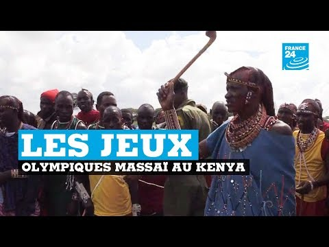 """Les """"Jeux Olympiques Massaï"""" au Kenya"""