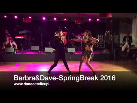 Barbara Materka i Dawid Kisiel - Salsa Spring Break 2016 -Barbra&Dave Dance Atelier Gdańsk