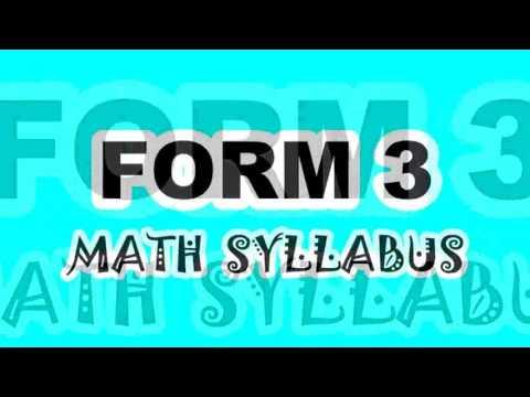 FORM 3 MATHS (BINOMIAL EXPANSION)