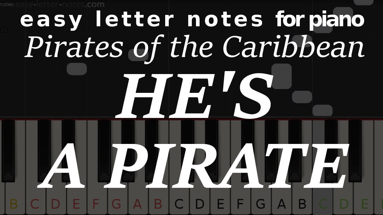 Letter notes – He's Pirate (Caribbean…)