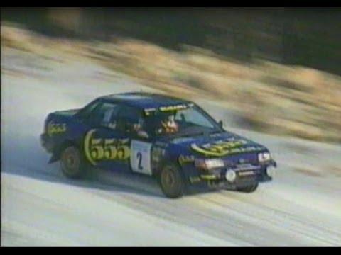 International Swedish Rally 1993 TV4