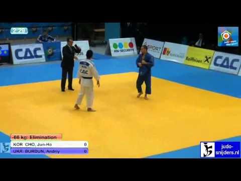 Jun-Ho Cho (KOR) - Andriy Burdun (UKR) [-66kg]