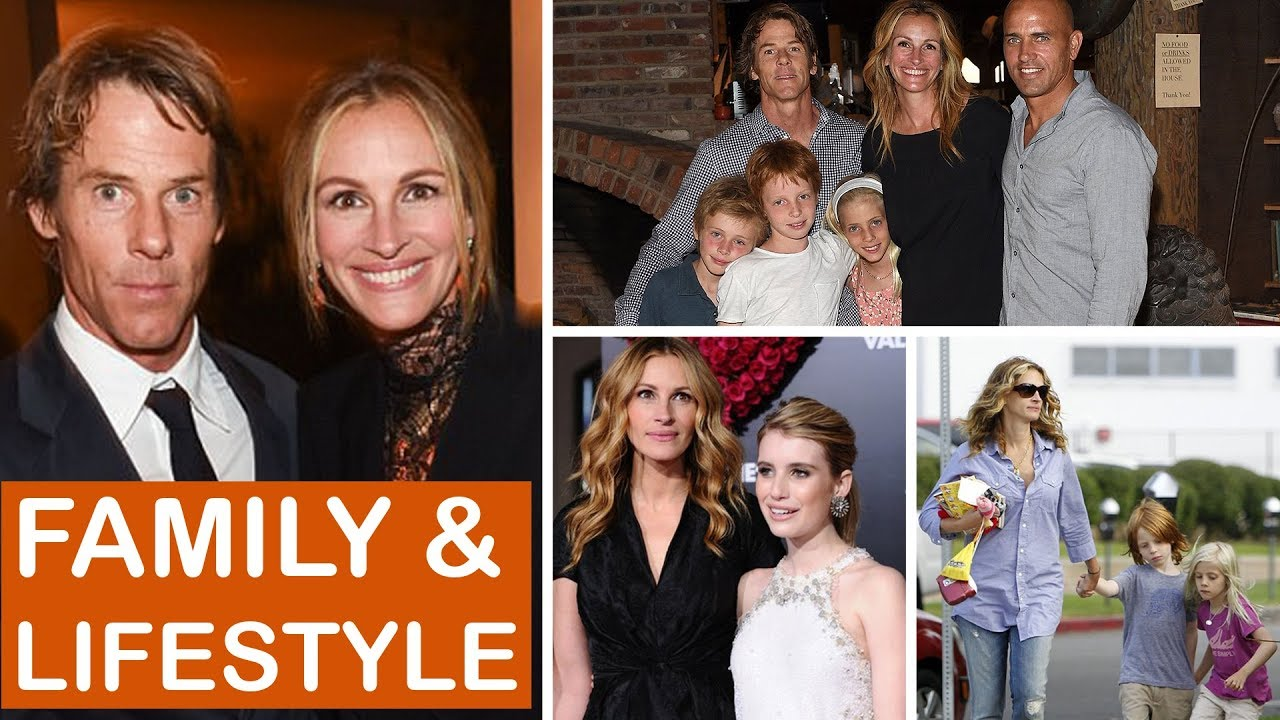 Julia Roberts Husband Kids And Family 2018